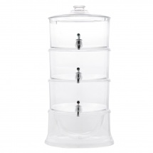 Frost Beverage Dispenser with 3 Tiers