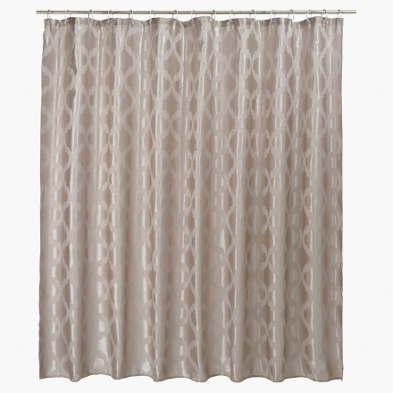 Salma Jacquard Shower Curtain - 240x180 cms