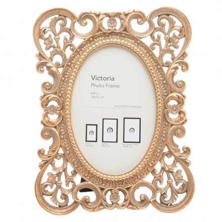 Victoria Photo Frame - 4x6 inches