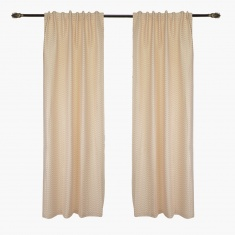 Leona 2-piece Curtain Set - 132x240 cms
