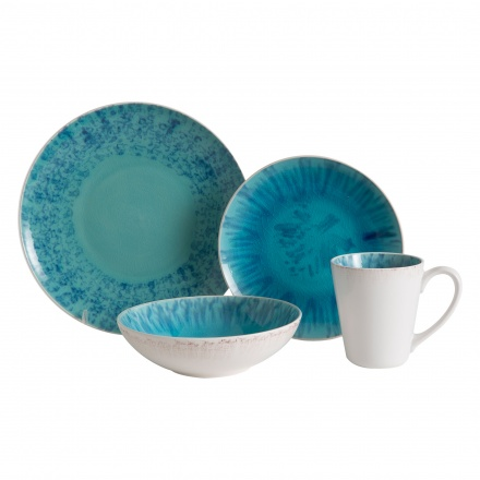 Blue Ocean 16-piece Dinner Set